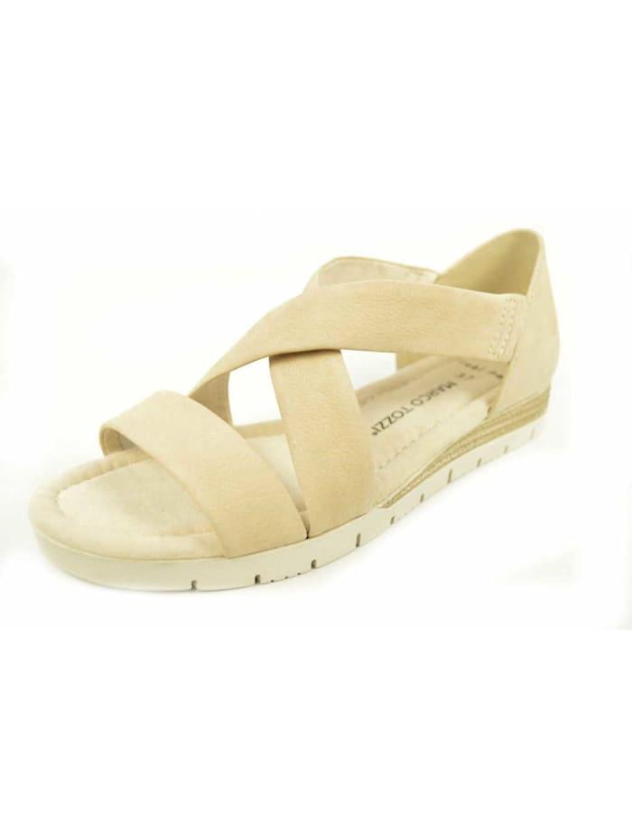 Marco Tozzi Sandalen/Sandaletten, beige