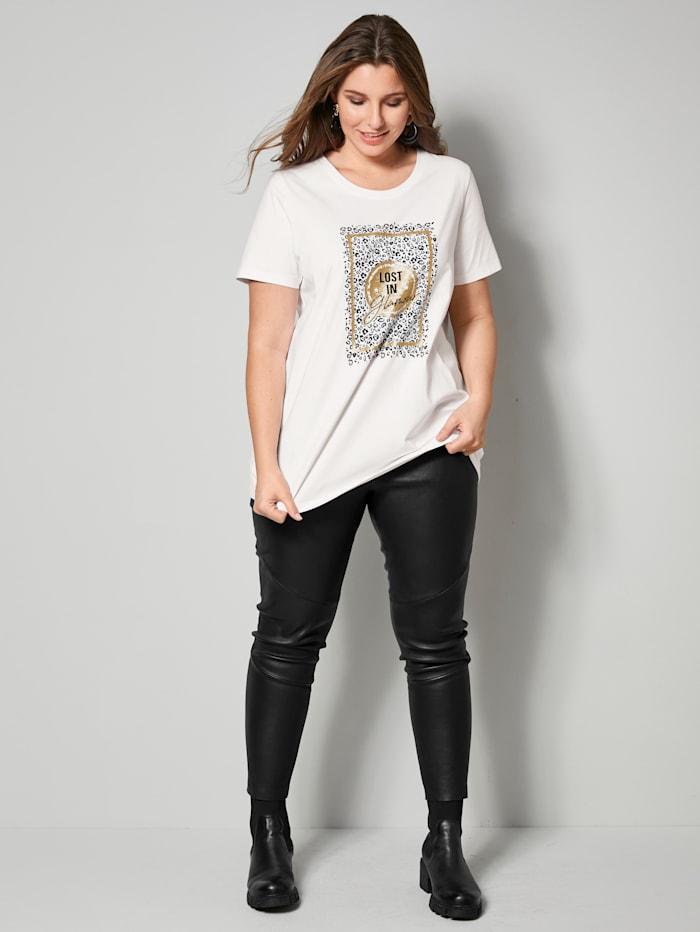 Shirt mit Glitzereffekt