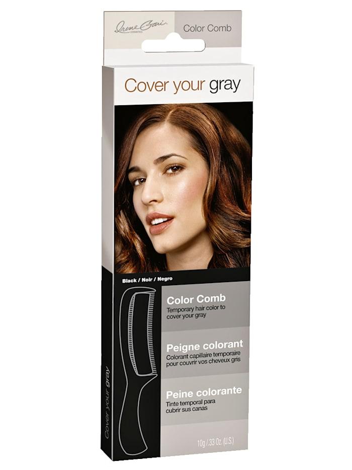 Hrebeň na farbenie vlasov okamžite kryje šedivé vlasy!