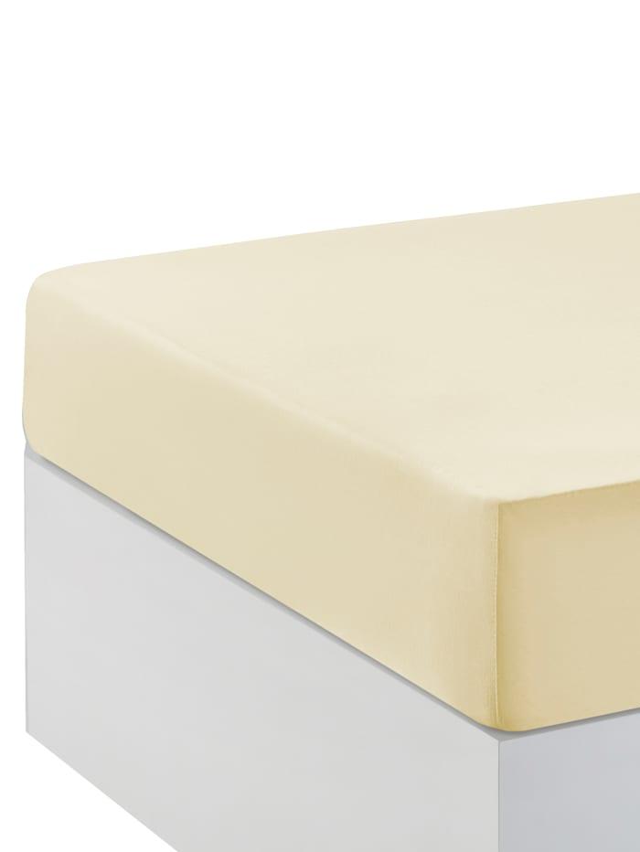 Webschatz Hoeslaken voor boxspring, vanille