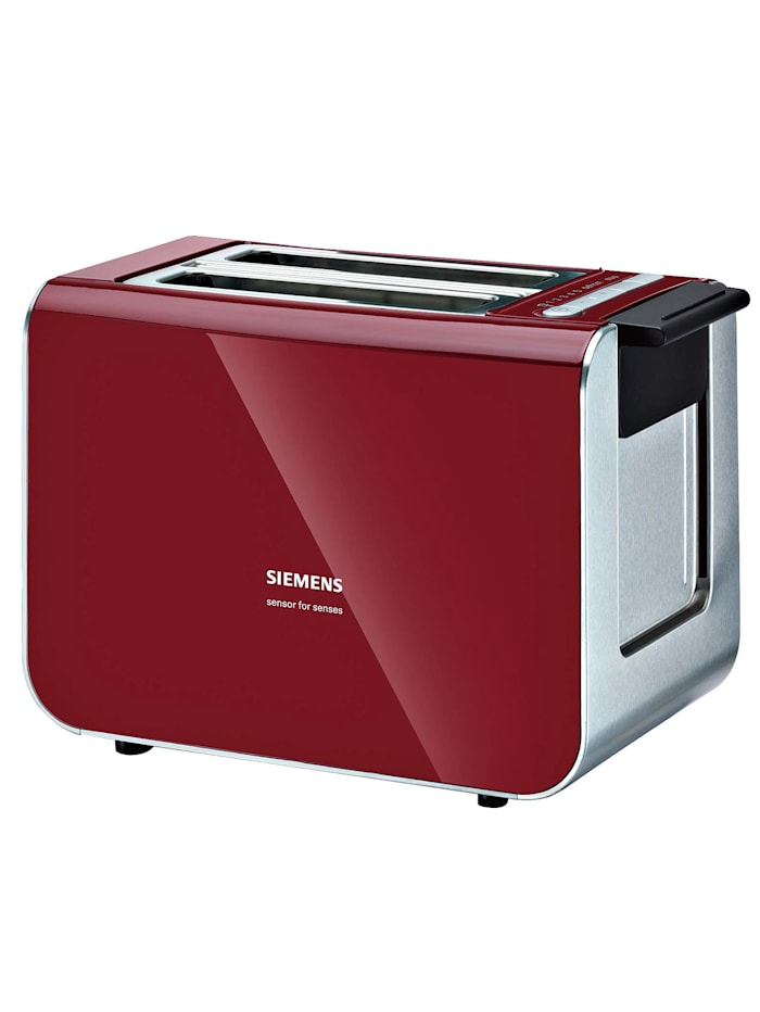 Siemens Siemens Kompakt-Toaster TT86103, rot