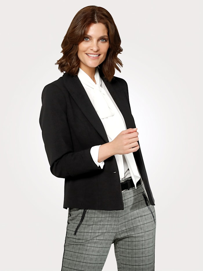 MONA Blazer in a versatile design, Black