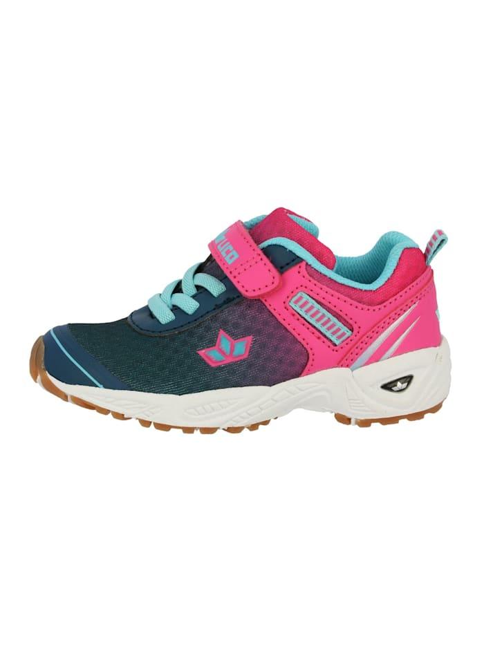 Lico Sportschuh, marine/pink/türkis