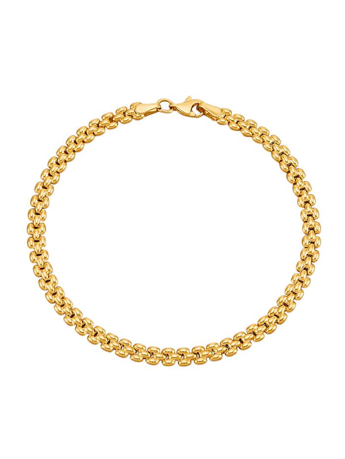 Amara Gold Armband in Gelbgold 585, Gelbgoldfarben