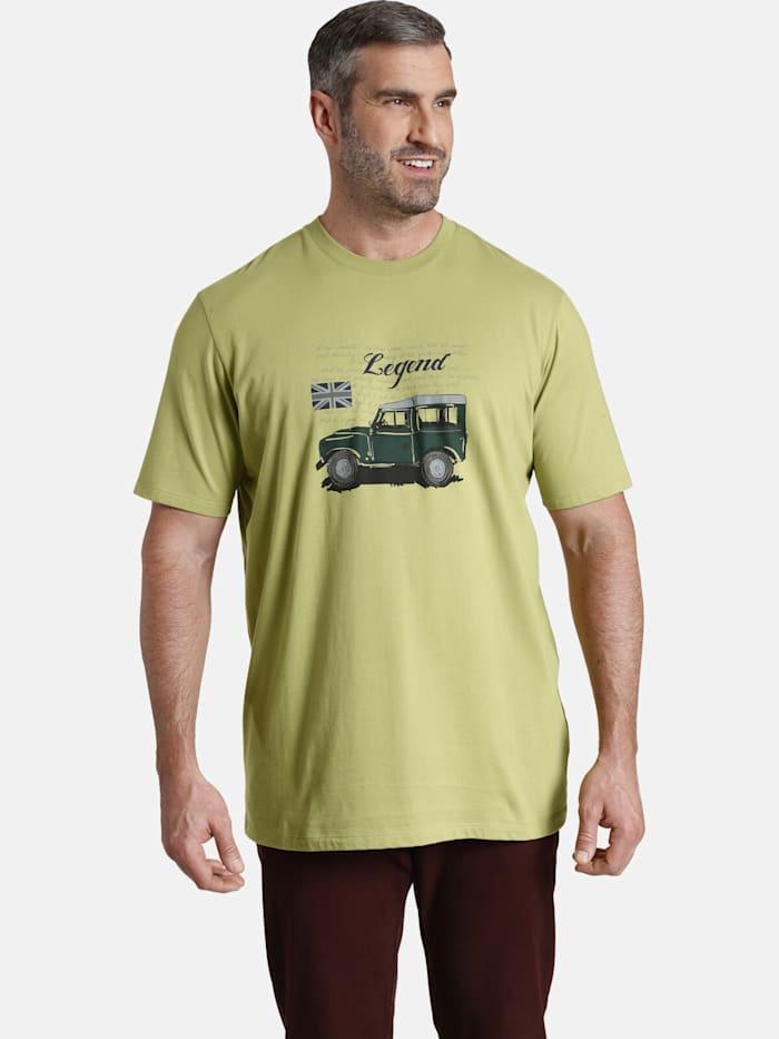 Charles Colby Charles Colby T-Shirt EARL TRAVIS, grün