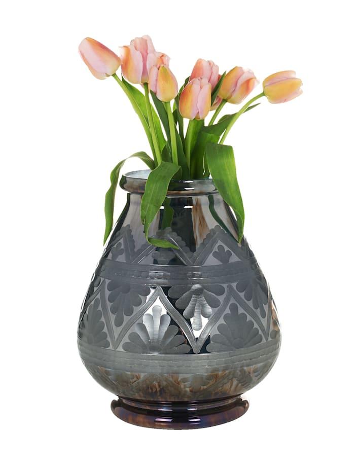 IMPRESSIONEN living Vase, silberfarben