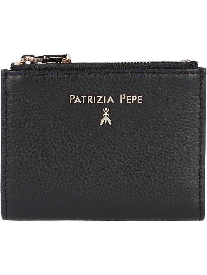 Patrizia Pepe Geldbörse Leder 12 cm, nero