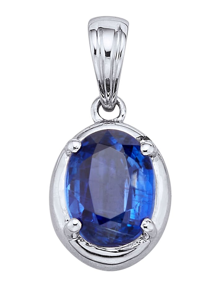 Amara Pierres colorées Pendentif à kyanite, Bleu