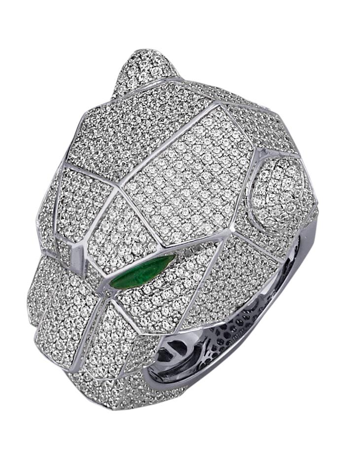 Diemer Trend Damenring in Silber 925, Silberfarben