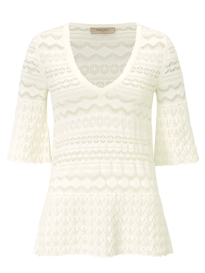 Twinset MILANO T-Shirt, Off-white