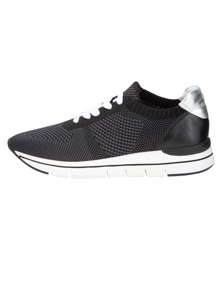 Sneaker in Strick-Optik