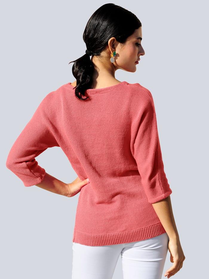 Pullover im Linksstrick