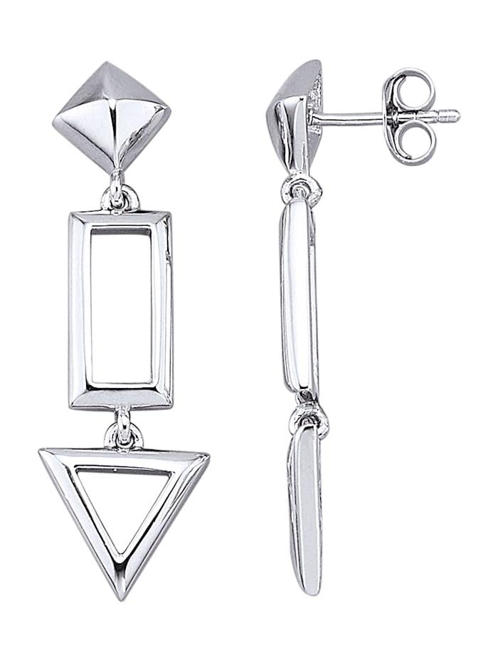 Ohrringe in Silber 925, Silberfarben