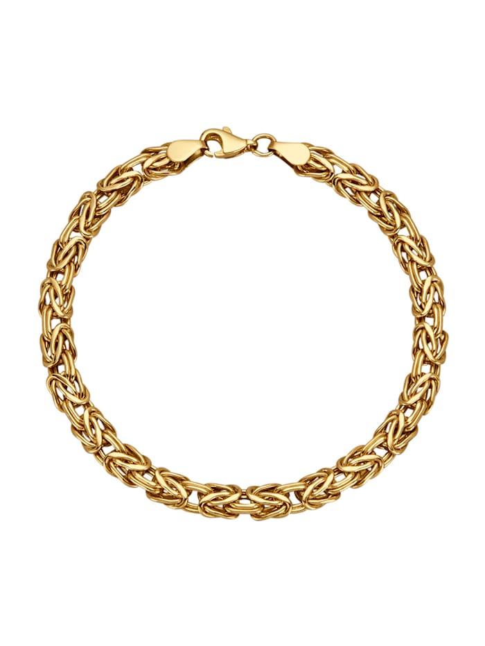 Diemer Gold Kultainen kuningasranneketju, Keltakullanvärinen