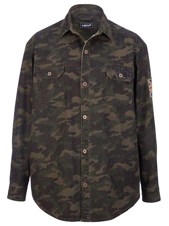 Skjortejakke i 100% bomull