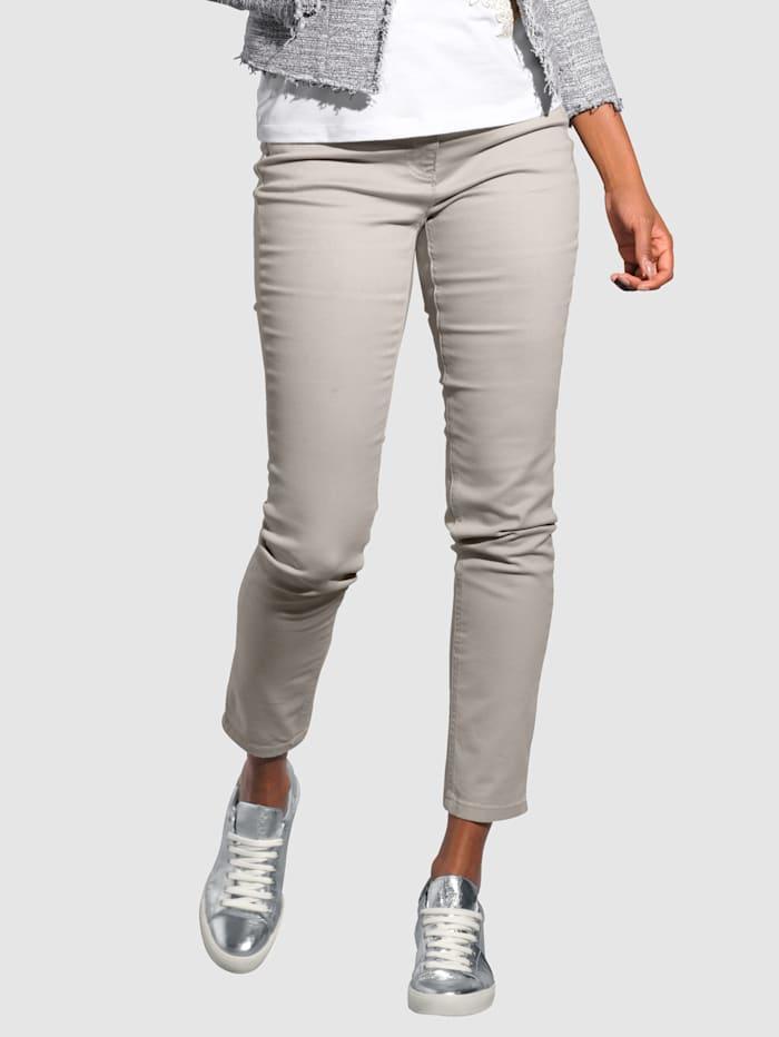 Alba Moda Jeans med push up-effekt, Natur