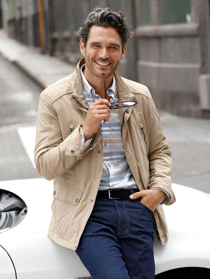 BABISTA Jacke mit praktischen 2-Wege-Taschen, Beige