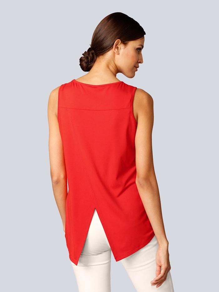 Shirt mit besonderem Detail im Rücken