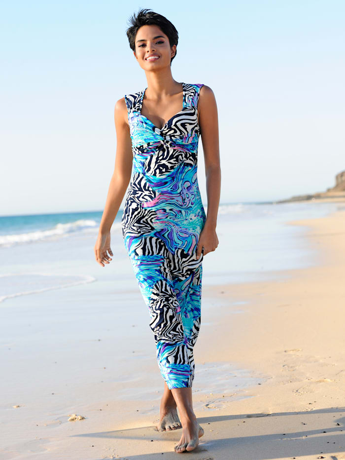 Strandkleid in Knotenoptik