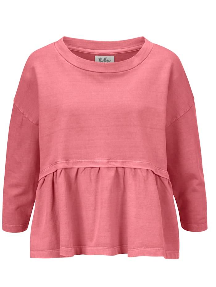 Mellow Peach Sweatshirt, Hellrot