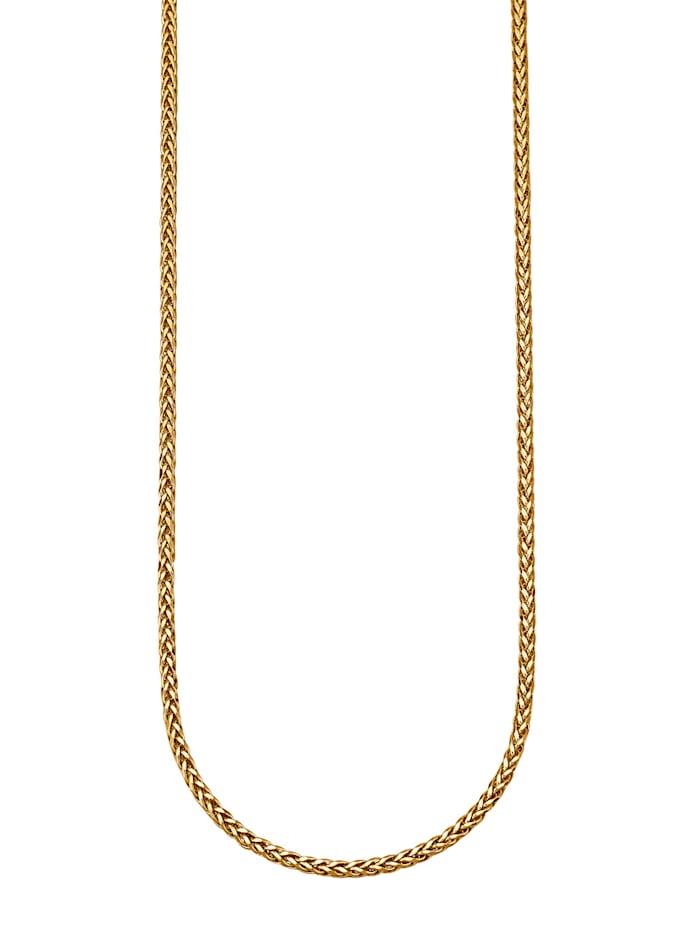 Diemer Gold Gevlochten ketting van 14 kt. goud, Geelgoudkleur