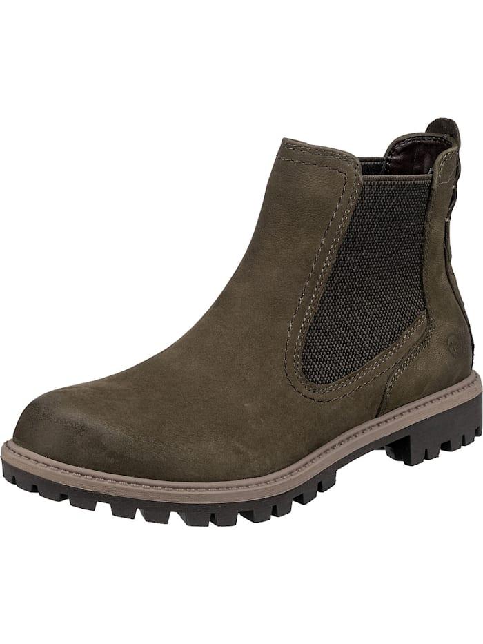 Tamaris Chelsea Boots, olive