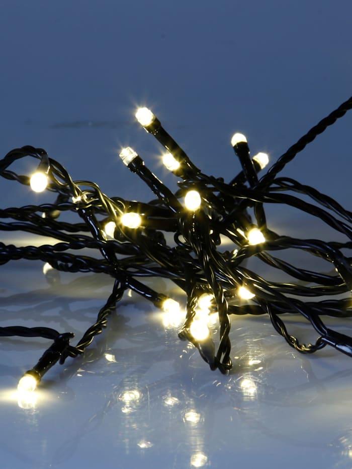 Star Trading Guirlande lumineuse à LED, blanc chaud, noir