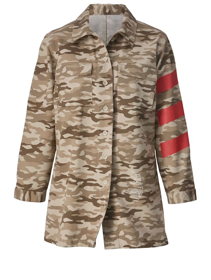Jacke Camouflage