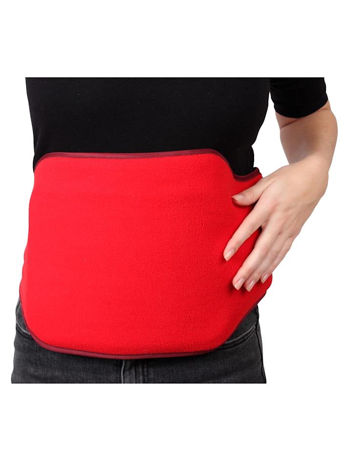 Vital Comfort Wärmflasche-Gürtel inkl. Wärmflasche, rot