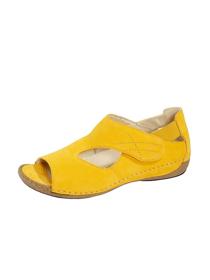 Waldläufer Sandalette, Gelb