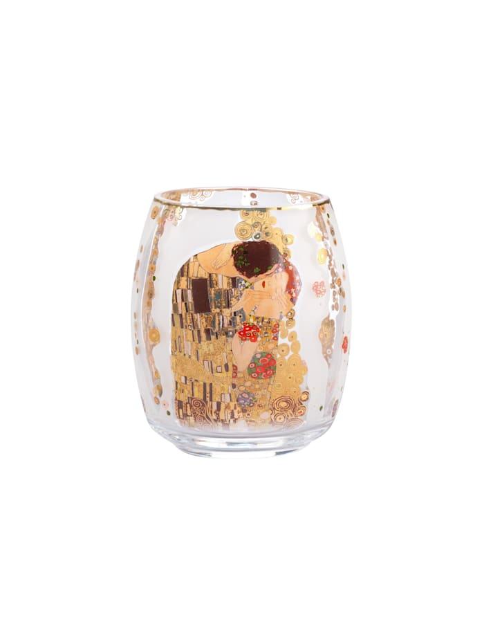 """Goebel Goebel Windlicht Gustav Klimt - """"Der Kuss"""", Klimt - Kuss"""