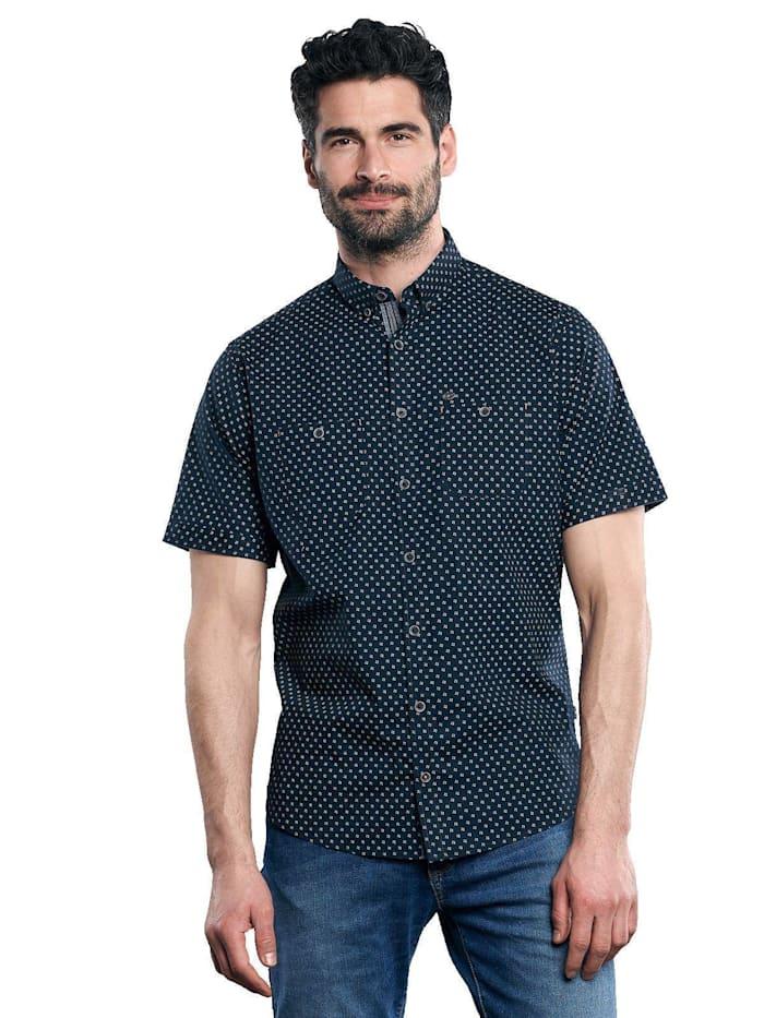 Engbers Hemd kurzarm, Marineblau