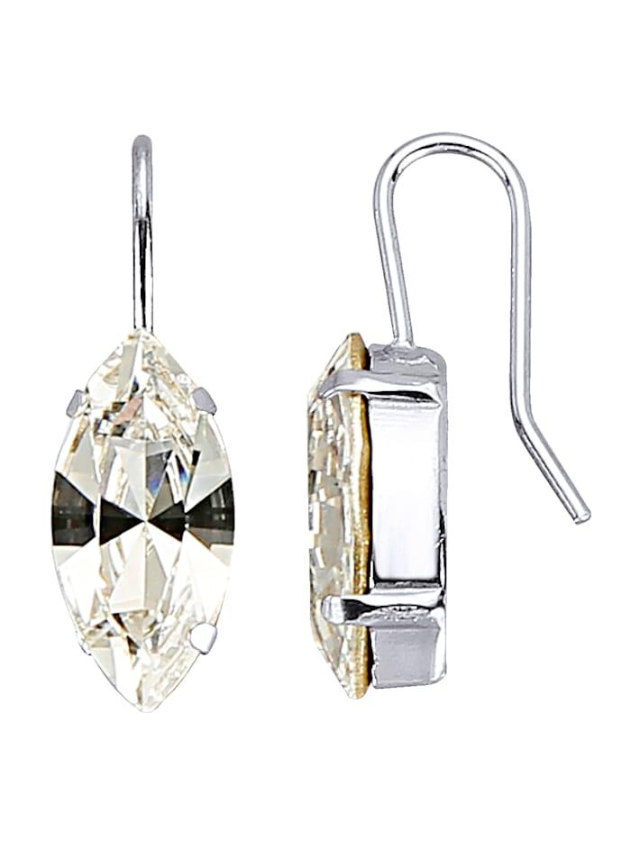 Ohrhaken mit Swarowski-Kristallen