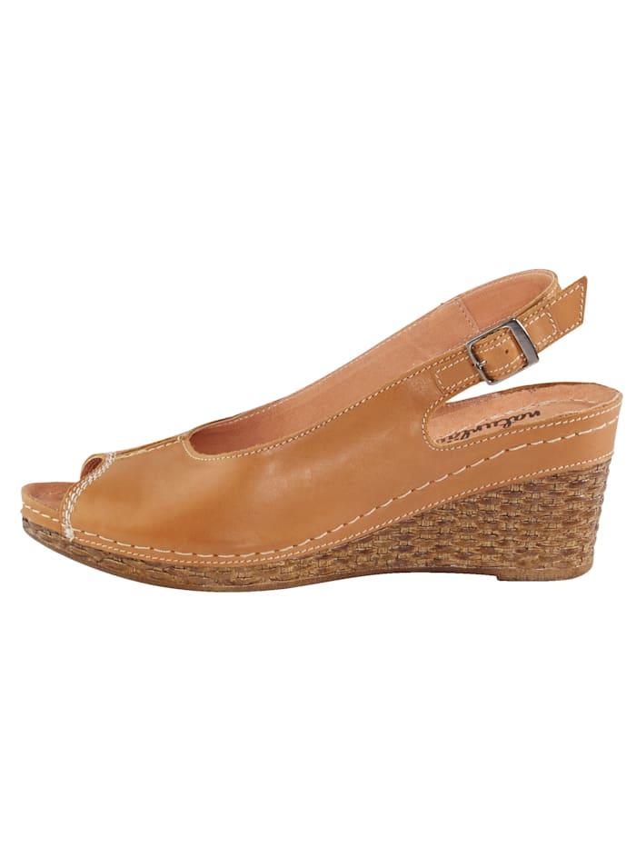 Sandaletit – punottu kiilakorko