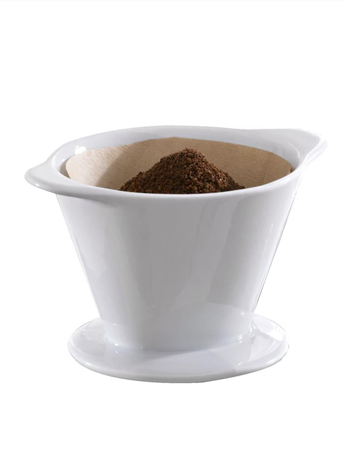 Ritzenhof & Breker Koffiefilterhouder Rio, wit - mt. 2 (voor koffiefilter 102)