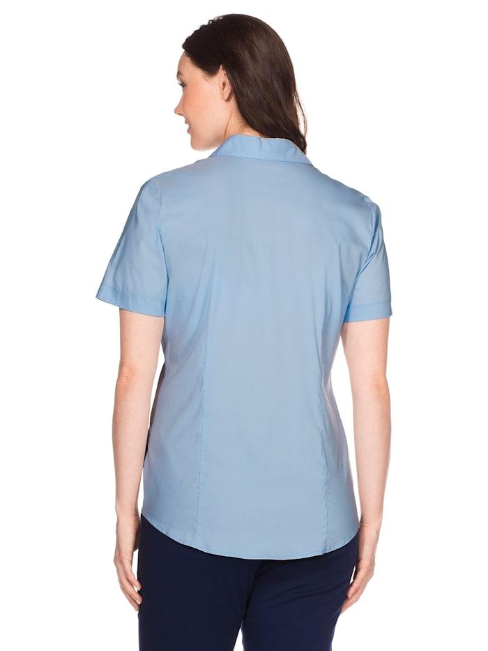 Bluse mit Stretch-Anteil