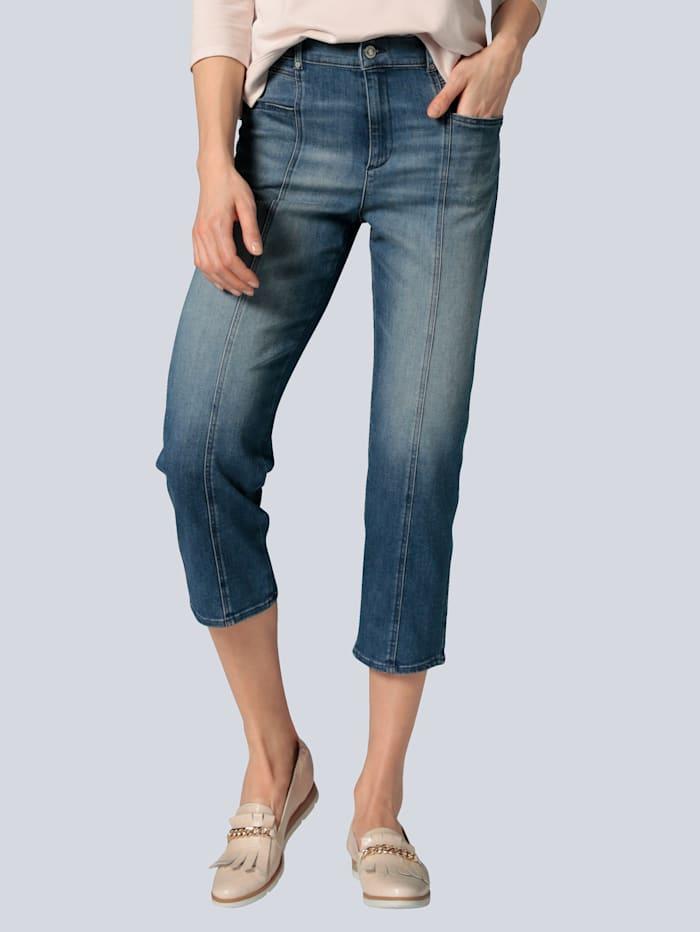 """BRAX Jeans """"Maple S"""" mit Teilungsnähten, Blue stone"""