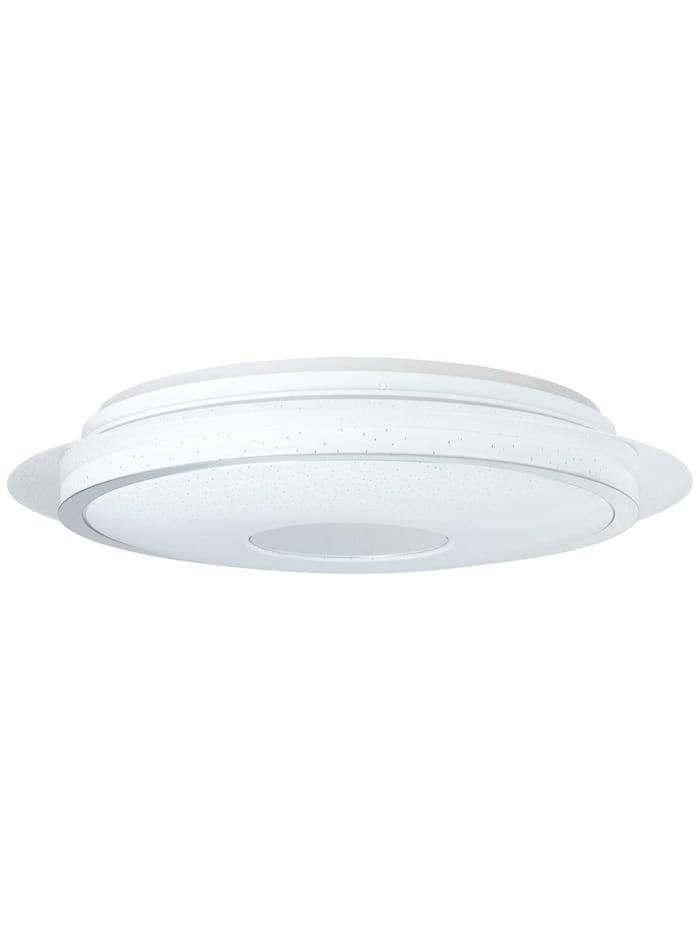 Viktor LED Deckenleuchte 45cm weiß-silber