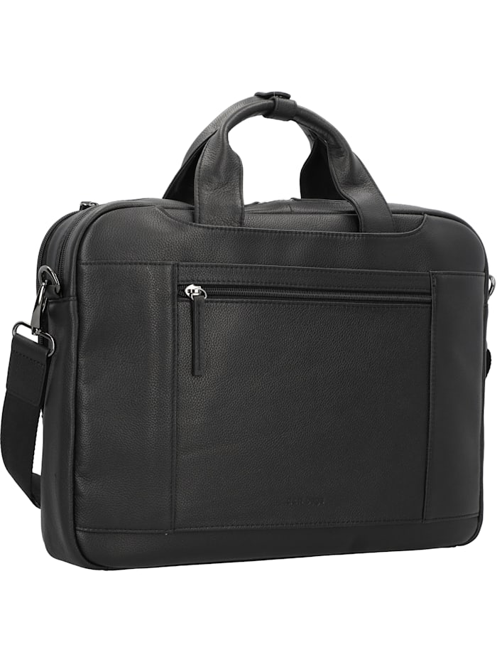 Business Line Aktentasche Leder 40 cm Laptopfach