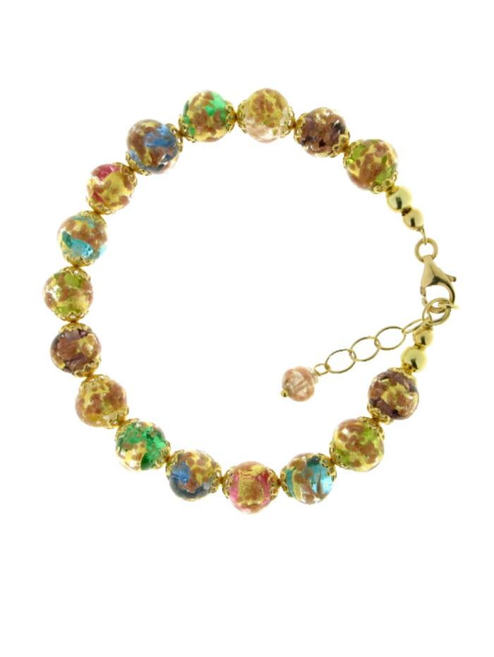 Grazielli Muranoglas-Armband, Multicolor