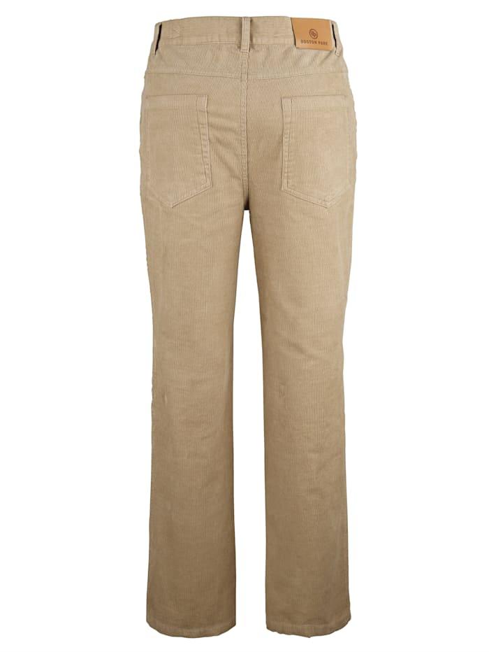 Pantalon en velours côtelé de coupe 5 poches