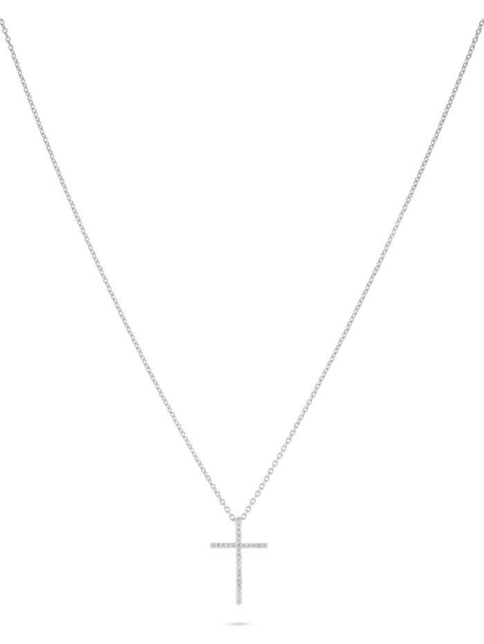CHRIST Diamonds CHRIST Damen-Kette 375er Weißgold 27 Diamant, weißgold