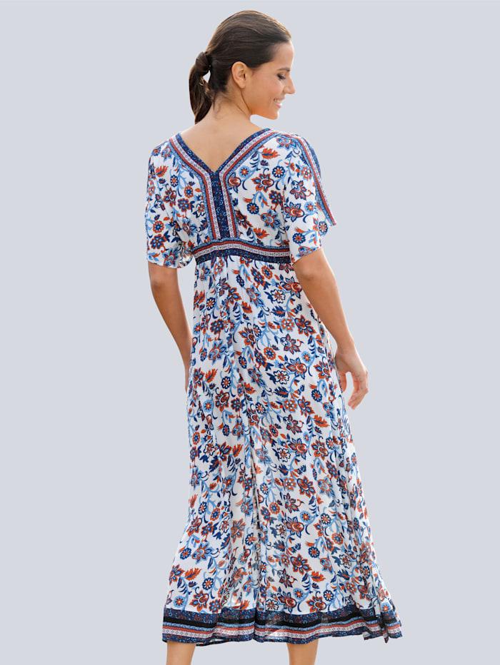 Strandkleid mit romantischem Druckdessin