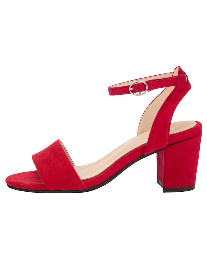 Sandale in trendiger Optik