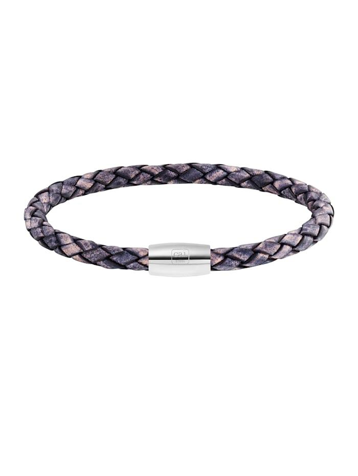 CAI Armband Edelstahl ohne Stein 23cm Glänzend, bunt