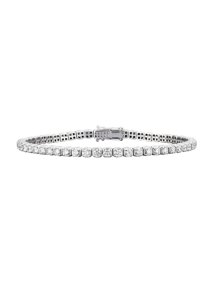 Diemer Diamant Tennisarmband mit Brillanten ca. 4,50 ct., Weiß