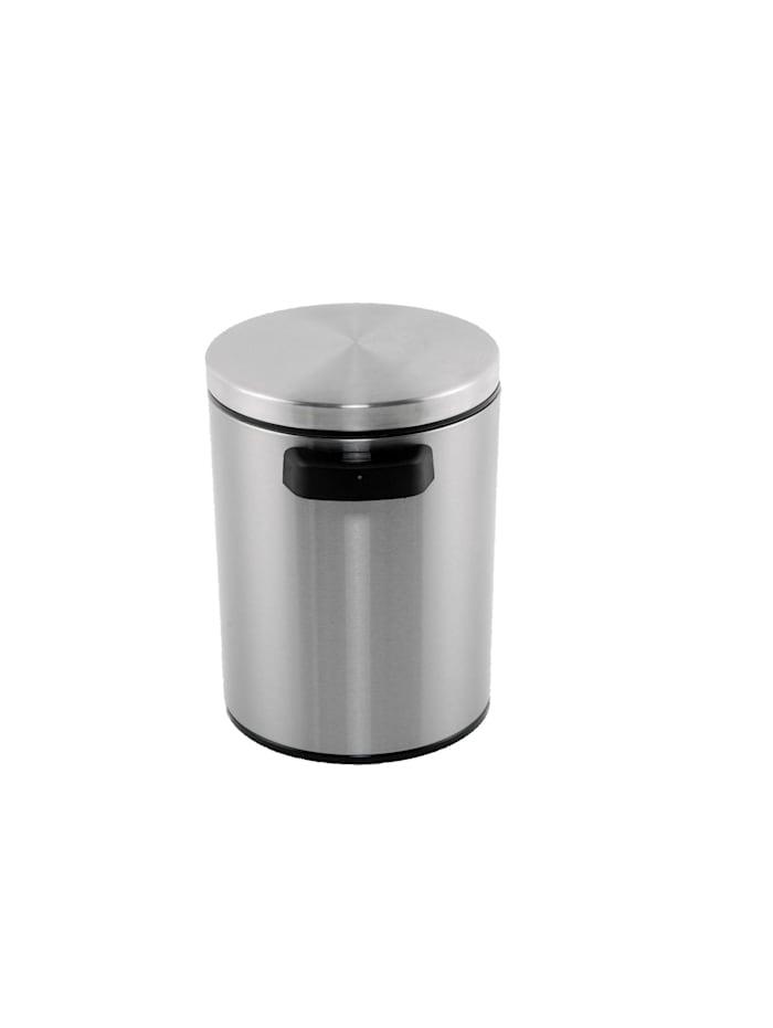 HTI-Line Sensormülleimer Vivo 5l, Silber, Schwarz