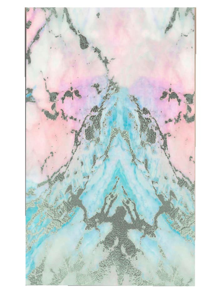 IMPRESSIONEN living Tapete, Marmor, mutlicolor