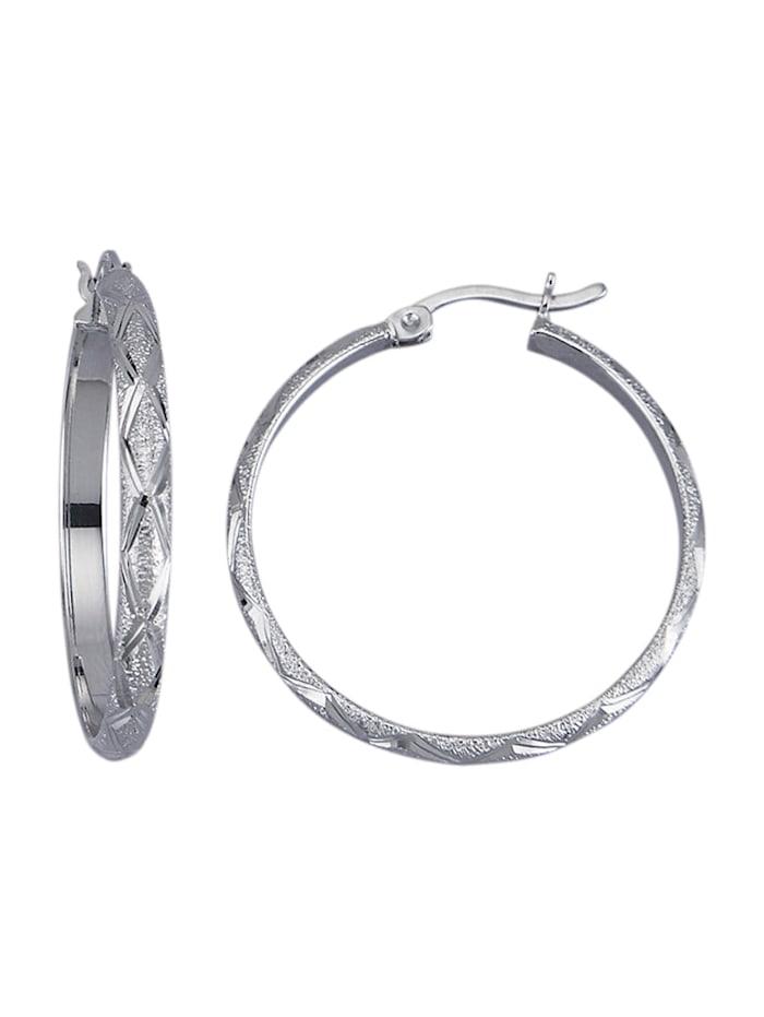 Creolen van echt zilver, Zilverkleur