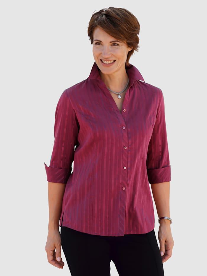 Kiiltoraidallinen paitapusero